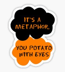 Orange Is The New Black - The Fault in Our Stars Crossover Sticker