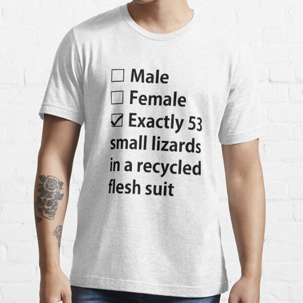 No Gender, Only Lizards Essential T-Shirt