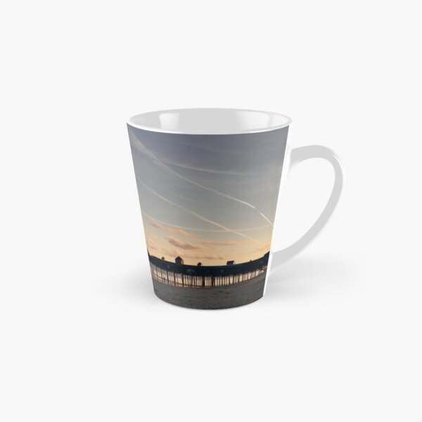 Old Orchard Beach Pier Maine Tall Mug