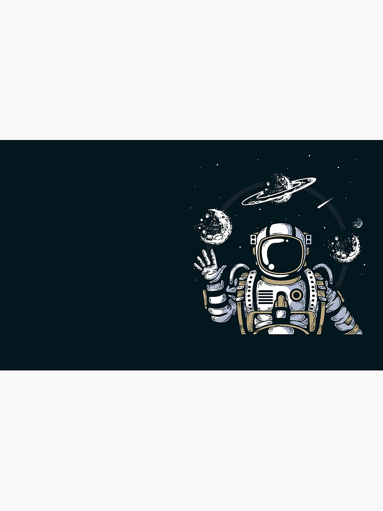 Spaceman on the Space by mdikici
