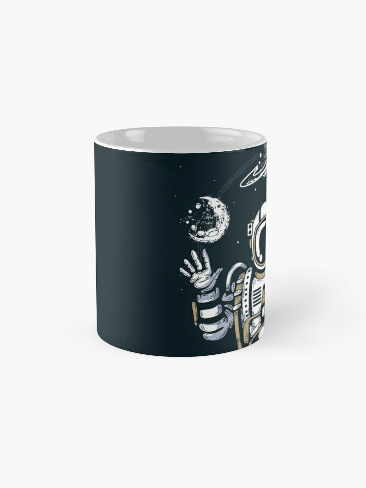 Alternate view of Spaceman on the Space Mug