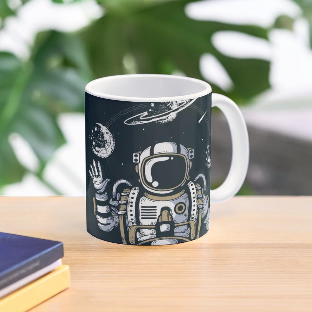 Spaceman on the Space Mug