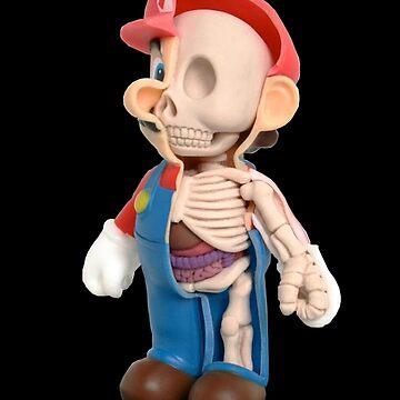 Super mario anatomy by Cristianvan