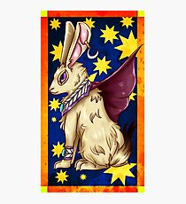 Mystic Rabbit  Photographic Print