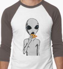 Alien eat pizza T-Shirt