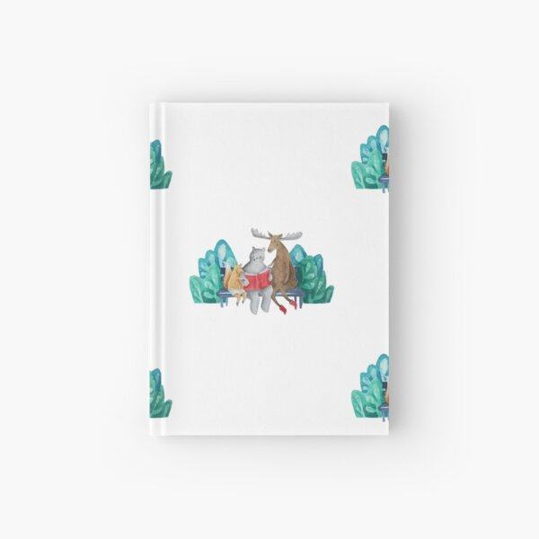 Happy friends Hardcover Journal