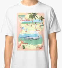 TEAL - The Coral Route  Classic T-Shirt