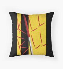 Kill Bill minimal poster Throw Pillow