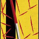 Kill Bill minimal poster by samdesigns
