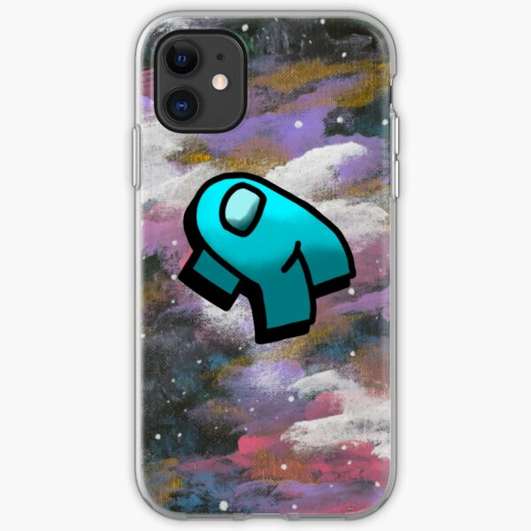 Among Us - Blue Ejected iPhone Soft Case