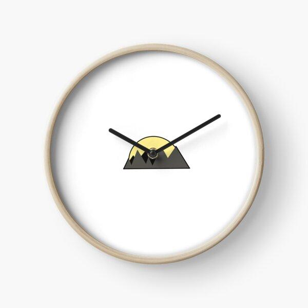 Sun and Mountain Clock