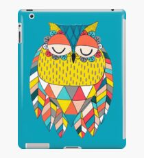 Aztec Owl Illustration iPad Case/Skin