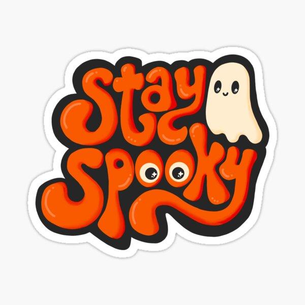 Festive Stay Spooky Sticker