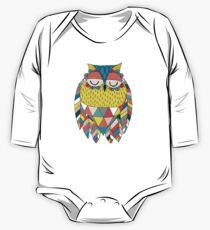 Aztec Owl Illustration Kids Clothes