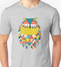 Aztec Owl Illustration T-Shirt