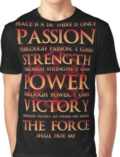 Sith Motto  Graphic T-Shirt