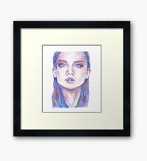 Some Girl  Framed Print