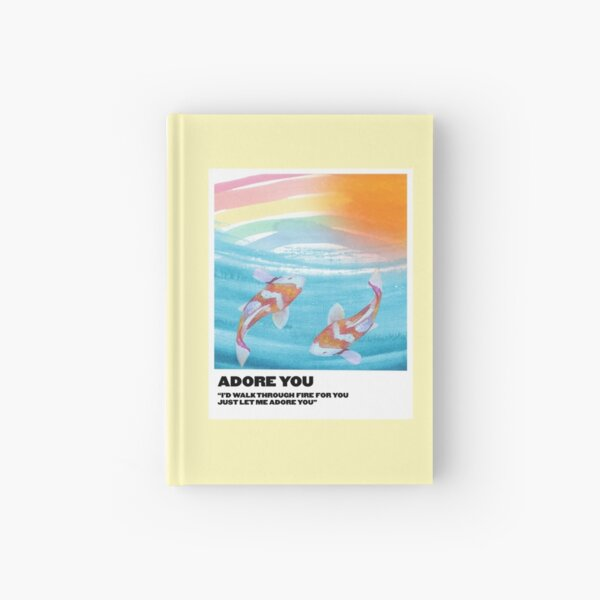 te adoro polaroid Cuaderno de tapa dura