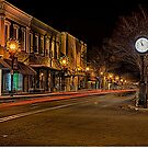 olde historic york city at christmas time in south carolina by ALEX GRICHENKO