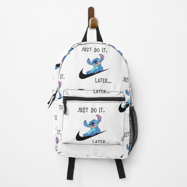 Stitch lilo Lazy Just Do It Later Comics Backpack