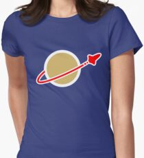Lego Space! Women's Fitted T-Shirt