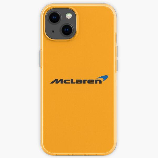 Mclaren logo iPhone Soft Case