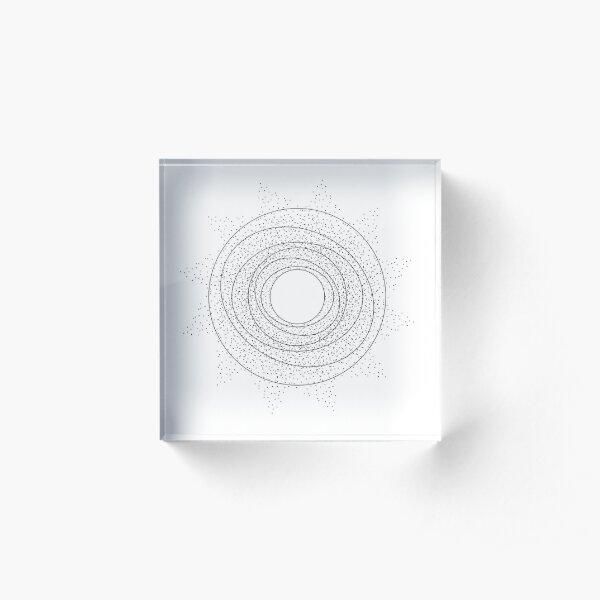 Constellation (Light Background) Acrylic Block