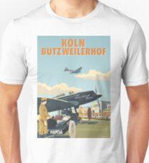 Cologne (Köln Butzweilerhof) Airport by Rosie Unisex T-Shirt