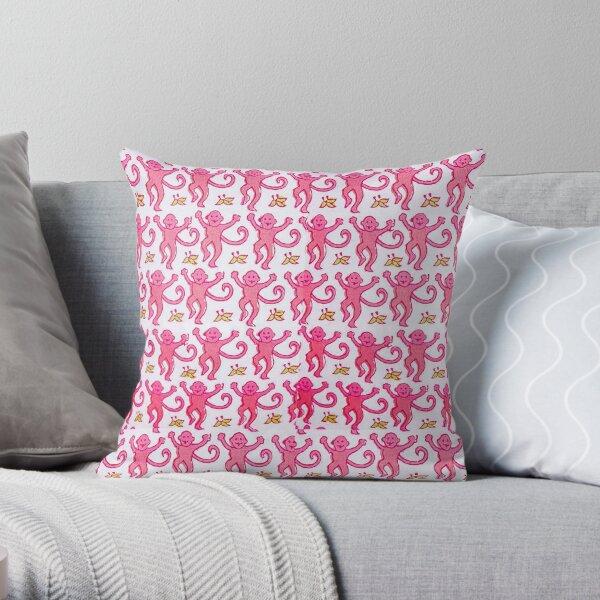 Roller Rabbit Print Throw Pillow