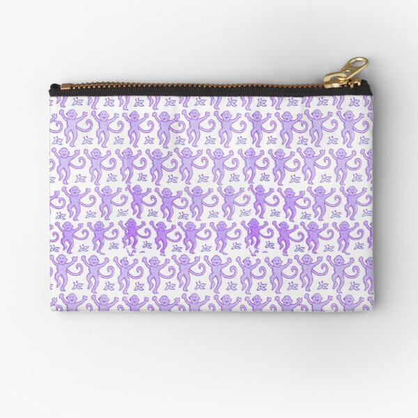 Roller rabbit print Zipper Pouch