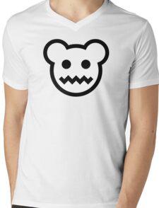 Evil Polar Bear Mens V-Neck T-Shirt