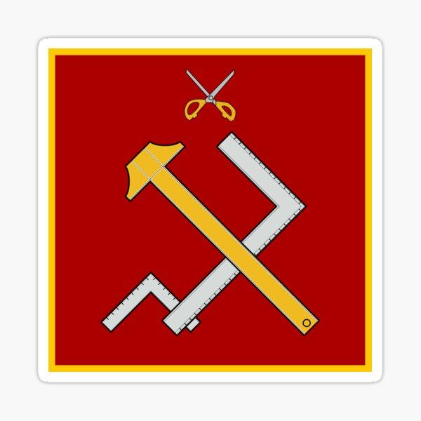 Girls und Panzer - Pravda Girls High School Sticker