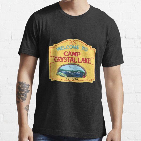 Camp Crystal Lake Funny Horror Movie Fan Humor Joke Essential T-Shirt