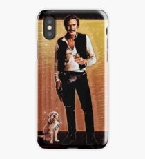 Ron Burgundy Han Solo iPhone Case