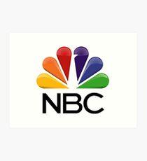 NBC Logo Art Print