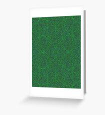 Green Maple Korean Wetlands Cord Greeting Card