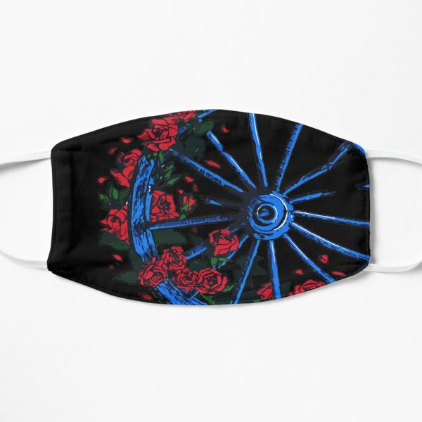 Grateful Dead Wheel Flat Mask