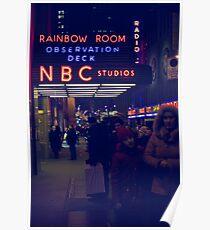 NBC Studios Poster