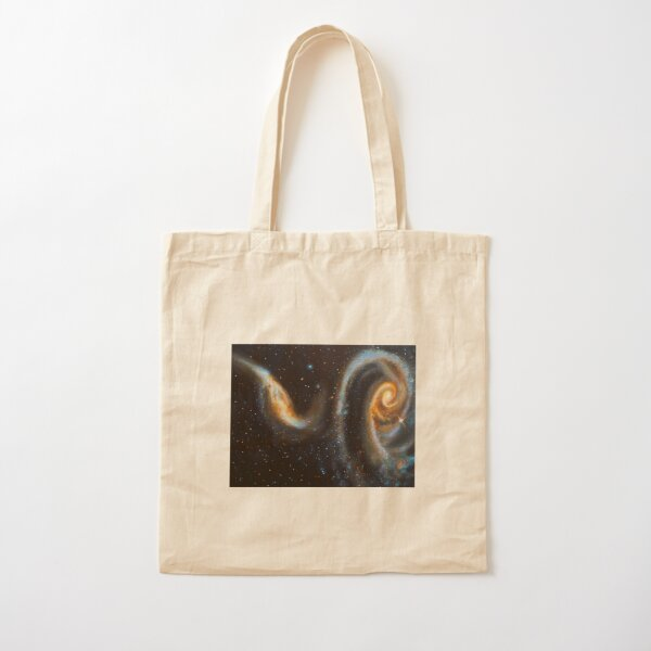 Rose Galaxy Cotton Tote Bag