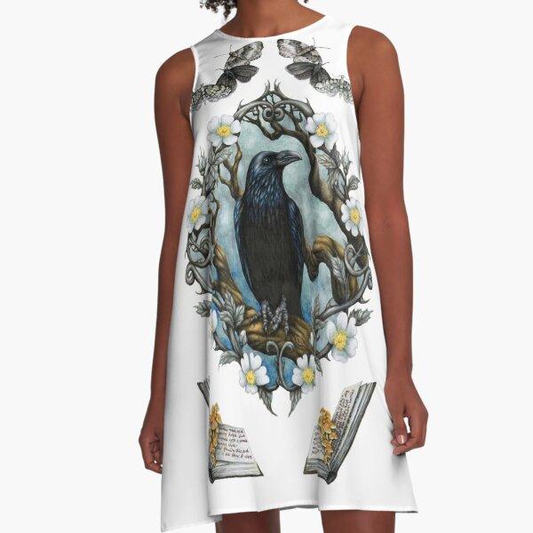 The Raven A-Line Dress