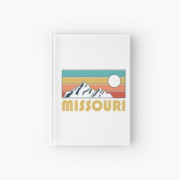 Missouri Retro Vintage - Missouri Mountain Souvenir - Gift - Hometown - Hiking - Nature Hardcover Journal