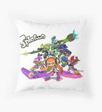 "Splatoon - ""Get Inked"" Throw Pillow"