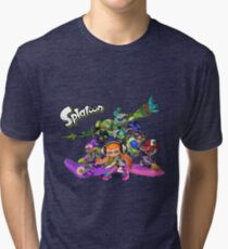 "Splatoon - ""Get Inked"" Tri-blend T-Shirt"