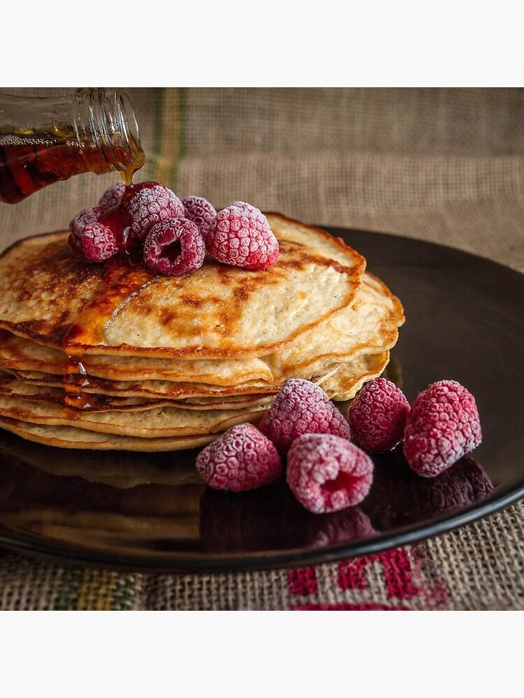 raspberry pancakes by franceslewis
