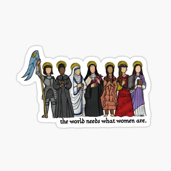 Die Welt braucht, was Frauen sind Sticker
