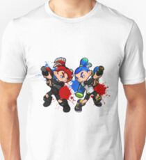 Inking Boy vs Octoling Boy Splat T-Shirt