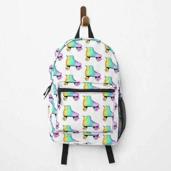 Rainbow Roller Skate #2 Backpack