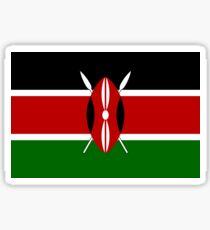 Kenyan Flag Sticker