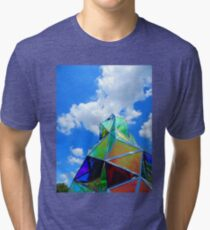 Sculpture and Sky Tri-blend T-Shirt
