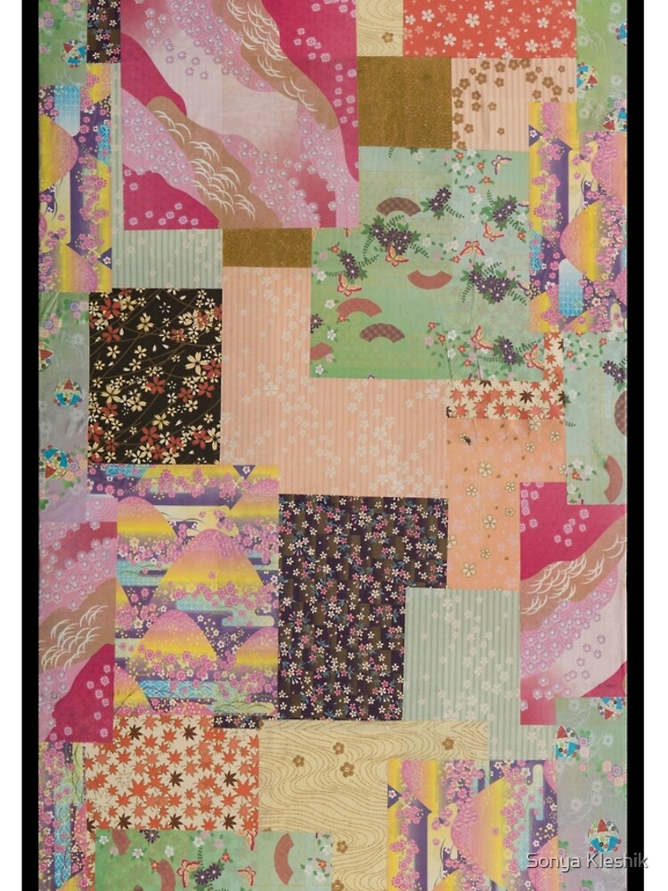 Quilted Origami Collage by sonyak5